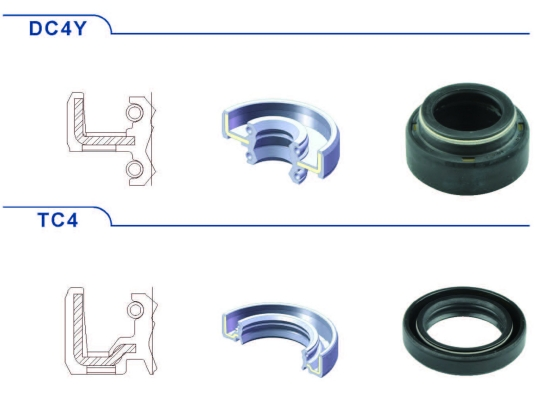 WLK Shock Absorber used Seals